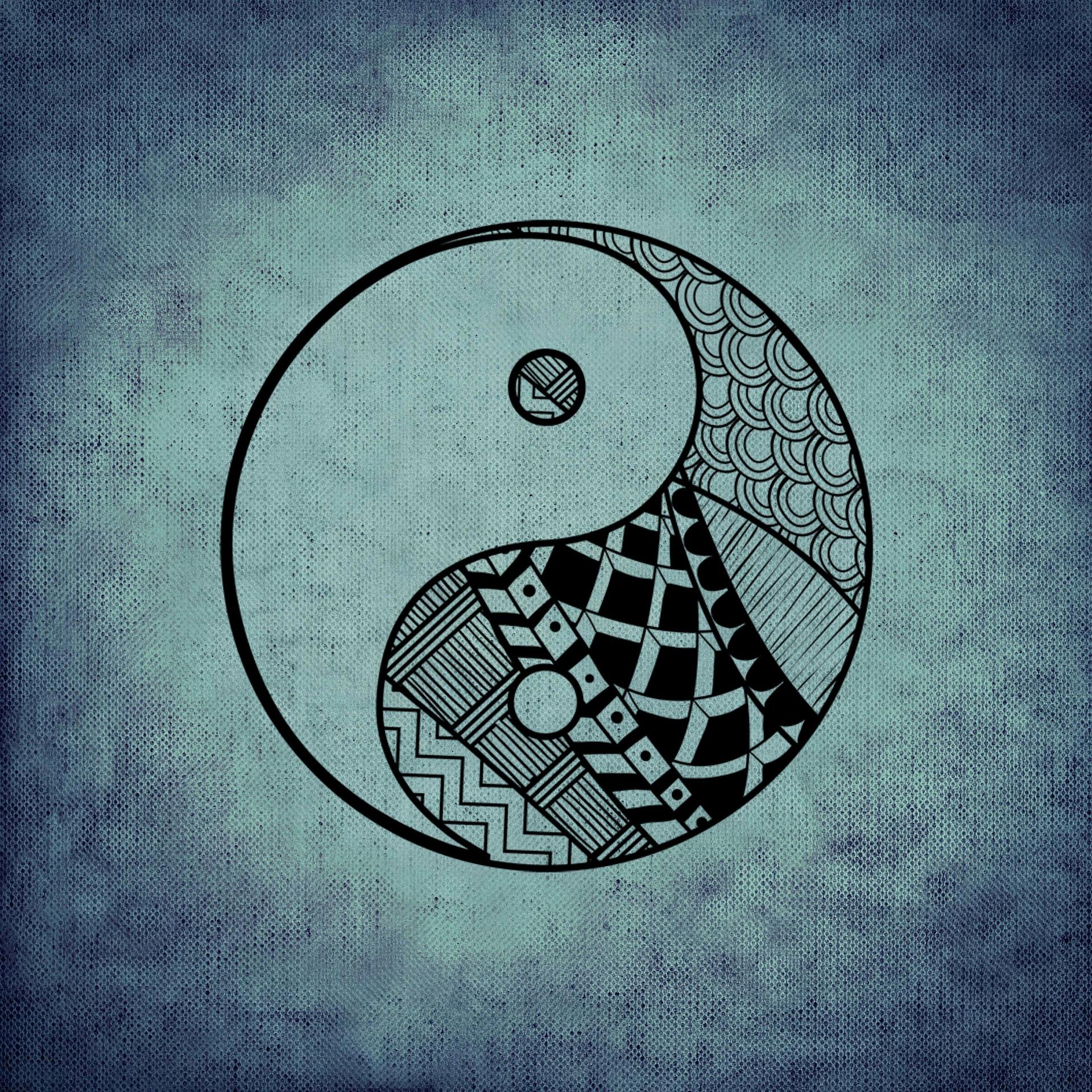 yin en yang. balans vinden met yoga.