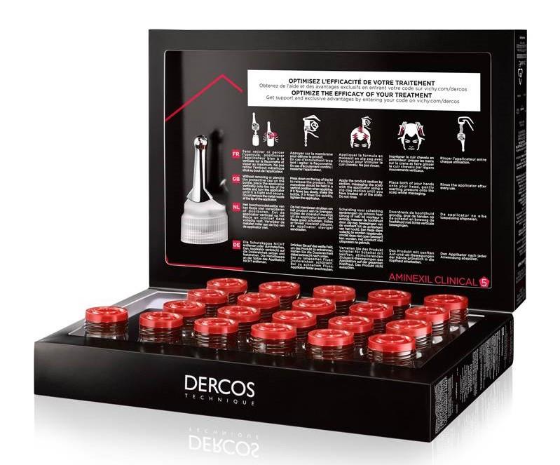 Vichy dercos aminexil is een kuur tegen haaruitval.