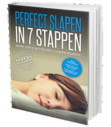 Boek perfect slapen in 7 stappen