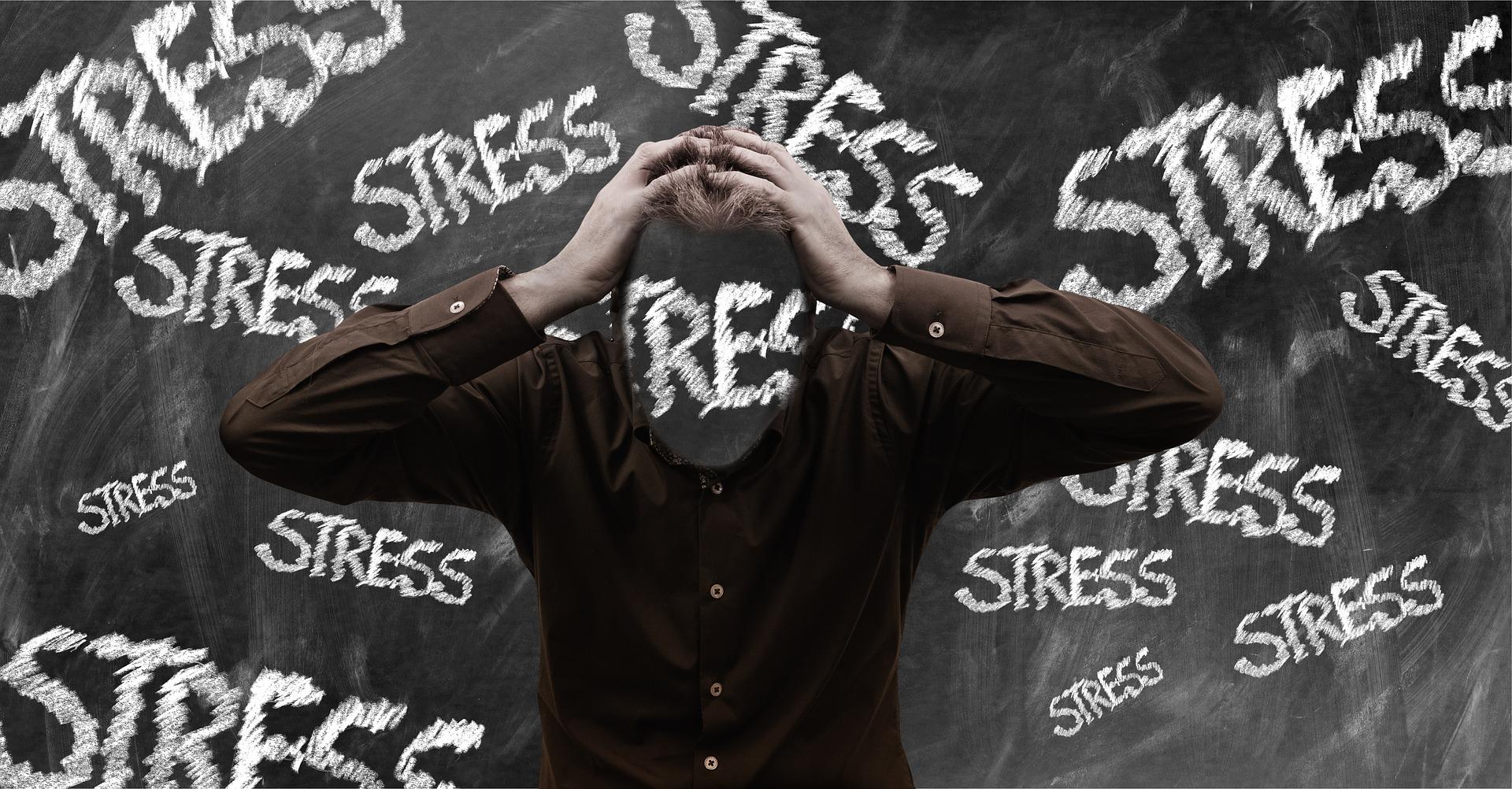 stress kan lijden tot een depressie