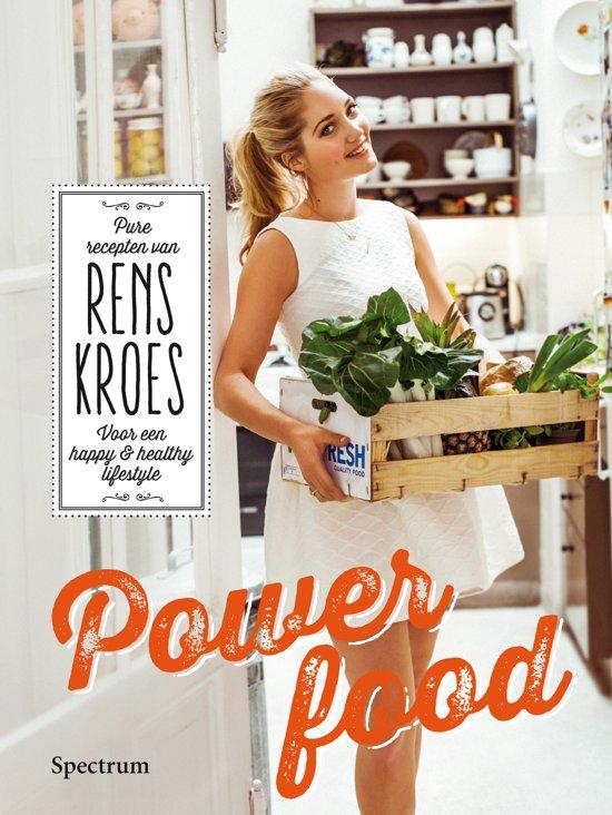 Powerfood is de bestseller van Rens Kroes waarin zij haar favoriete recepten presenteert met verantwoorde ingredienten voor een happy en healthy lifestyle.