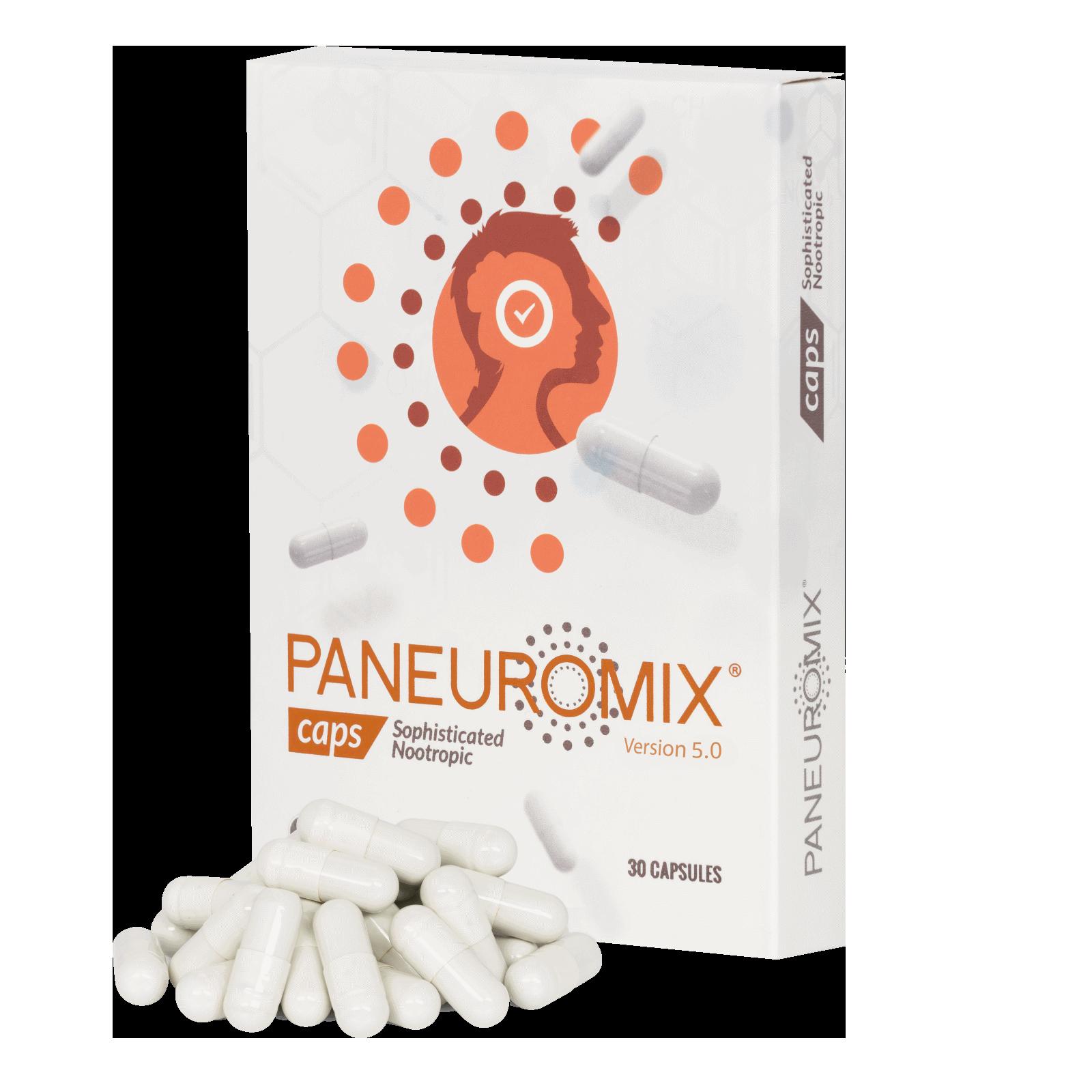 Paneuromix geeft je hersenkracht een boost