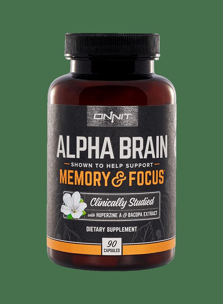 Klinisch onderzocht supplement voor verbeteren van geheugen, focus en verwerkingssnelheid