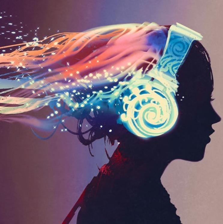 luisteren naar muziek of een geleide meditatie is een goede ontspanningstechniek