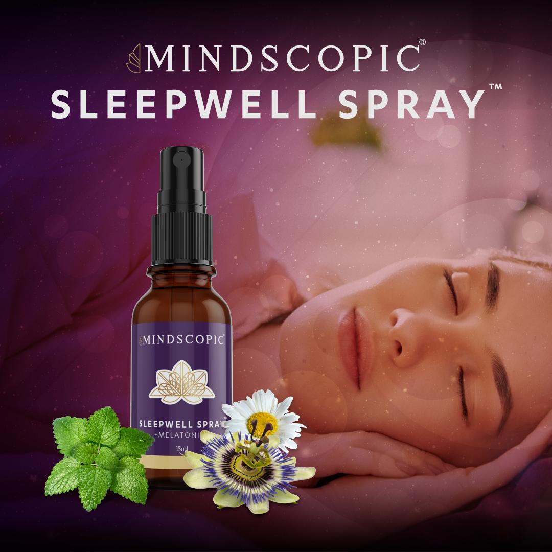 lekker slapen met de sleepwell spray van mindscopic