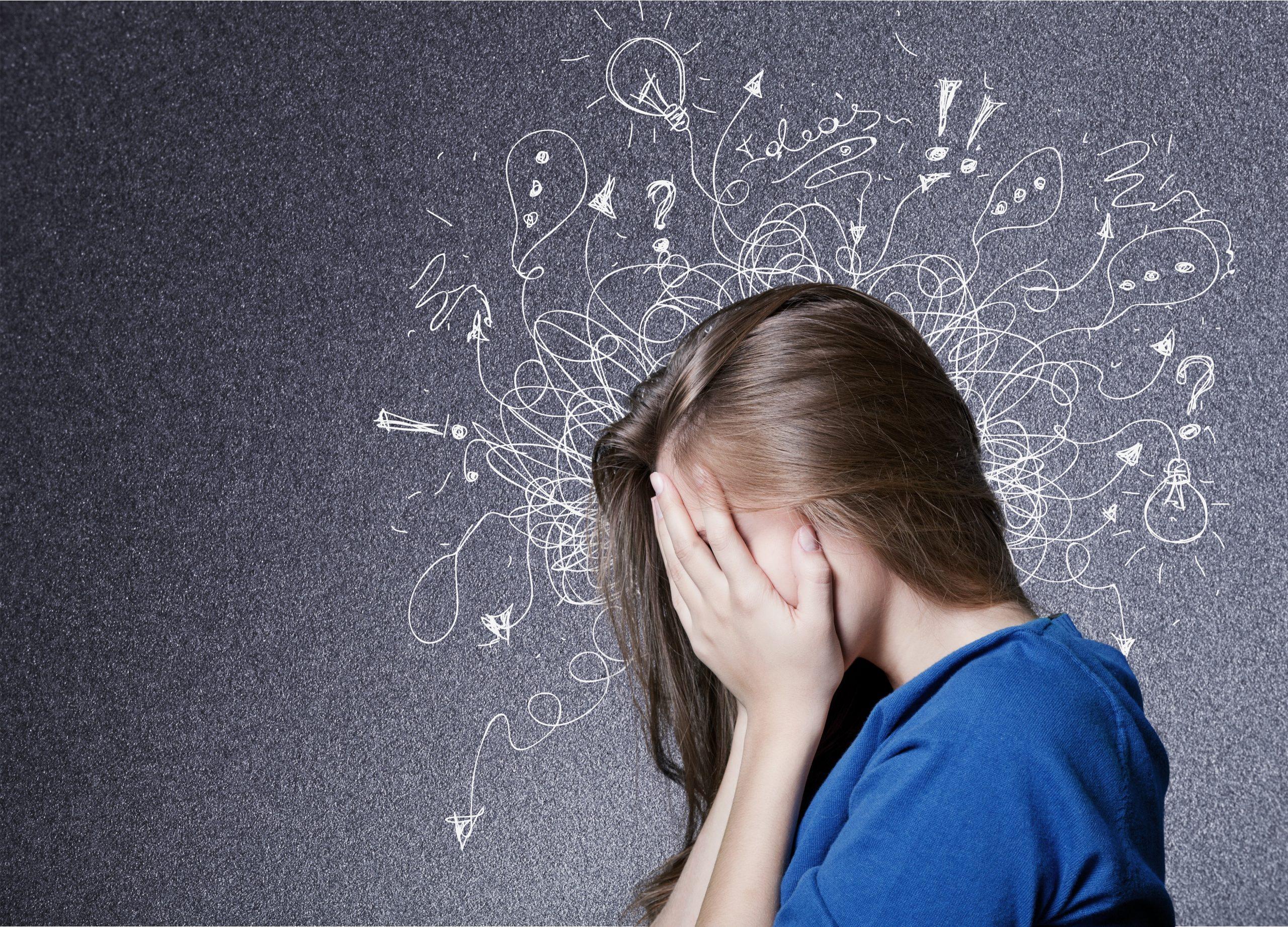 angst wordt een probleem wanneer je erkent het niet lijkt te verdwijnen